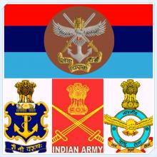 Logos of Indian Armed Forces
